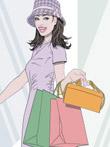 韩国矢量-时尚女孩