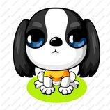 卡通苏格兰梗犬_3