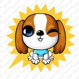 卡通苏格兰梗犬_10