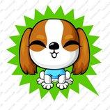 卡通苏格兰梗犬_11