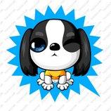 卡通苏格兰梗犬_12