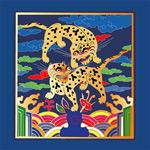 中国古典吉祥老虎图