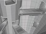 3D高科技风格建筑