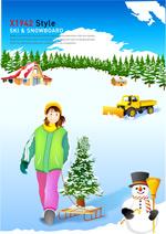 冬季滑雪运动_11