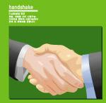 商务场景―握手