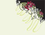 矢量花纹装饰4