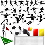 足球运动元素