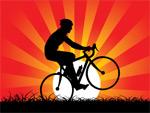 矢量自行车运动