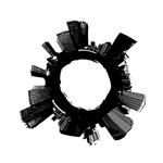 黑白城市矢量