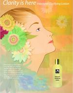 矢量化妆品海报