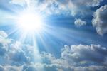 空中的太阳