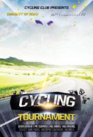 自行车运动海报