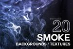 烟雾萦绕背景