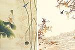 工笔画植物景物