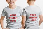 儿童T恤样机