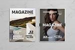 多用途杂志ID模板
