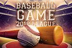 炫酷棒球海报