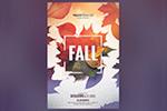 秋季海报模板