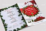 圣诞节主题菜单