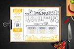 西餐厅菜单模板