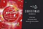 时尚圣诞派对海报