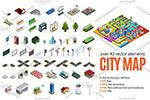 立体城市拼装元素
