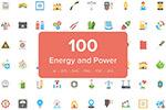 100枚能源图标