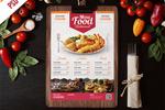 美食菜单模板