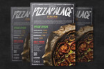 pizza海报模板