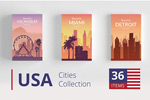 美国建筑城市风景
