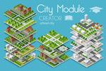 立体城市模型元素