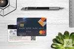 质感银行卡模板