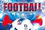 足球赛事海报