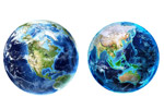 三维立体地球图片