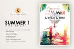 夏季夜店海报