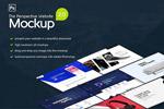 网页设计展示样机