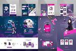 女性购物网站模板