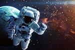 太空遨游宇航员