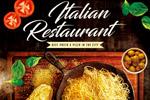 意大利餐厅海报