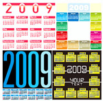 2009年全年日历