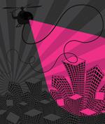潮流城市插画2