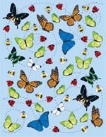 矢量昆虫插画