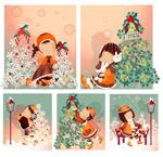 女孩-圣诞节主题3