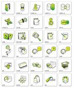 网页设计装饰图标