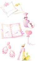 粉红色女性图标2