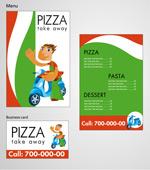Pizza店形象模板