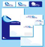 蓝色企业VI模板
