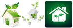 环保房子图标