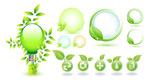 树叶环保图标