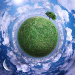 绿色的地球